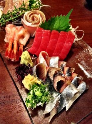 嵯峨野の秋刀魚のお刺身
