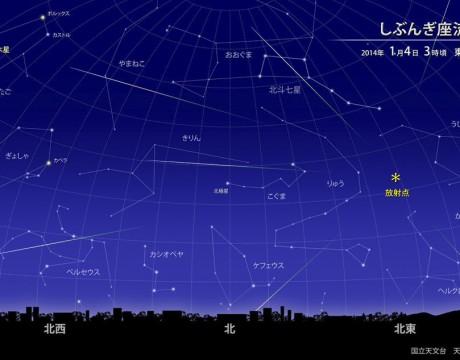 2014年のしぶんぎ座流星群