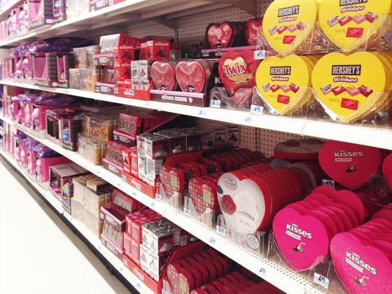 バレンタイン人気NO.1のハーシーズも充実。 Kマート