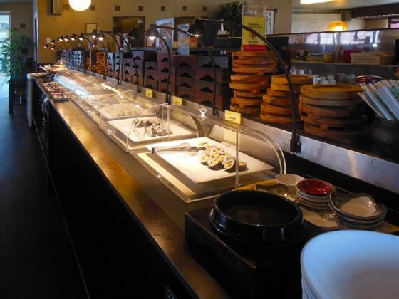 お寿司 (コリドスのランチブッフェ)