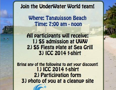 国際海岸クリーンアップキャンペーン 2014