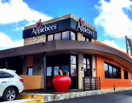 グアムにオープンしたアップルビーズ(Applebee's)