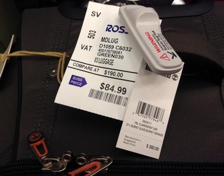 ティンバーランドのスーツケース(大) $380.00 → $84.99 (ロスドレスフォーレス)