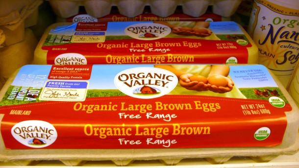 US放し飼いオーガニック卵