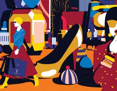 2018年10月の『ゴールデンリワード』プロモーション Tギャラリアグアム by DFS