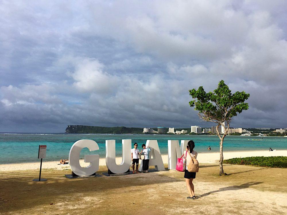GUAM イパオビーチ (2019年4月5日)